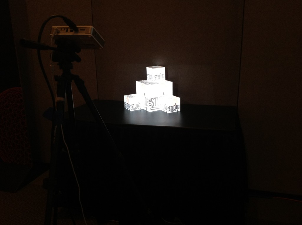 Siggraph 2012 cubes I