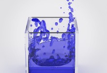 Blender Fluid Simulation