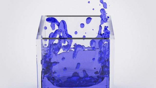 Blender Fluid Simulation